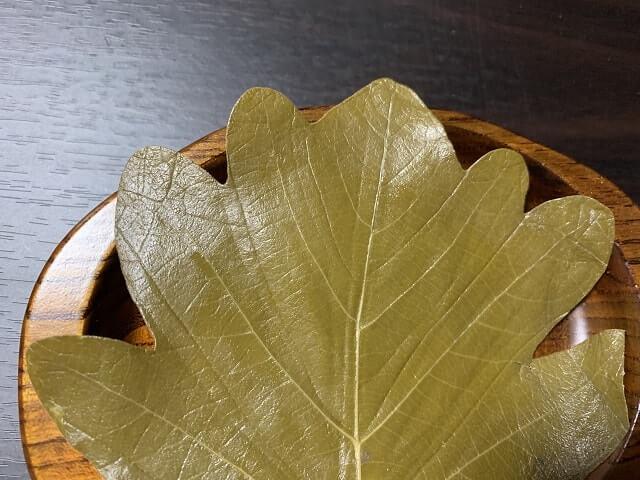 小田原の佐宗菓子舗さんの柏餅完食