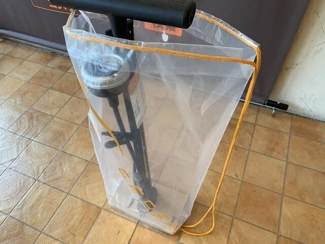 サーファスFP-200SEロングストローク専用バッグ付属