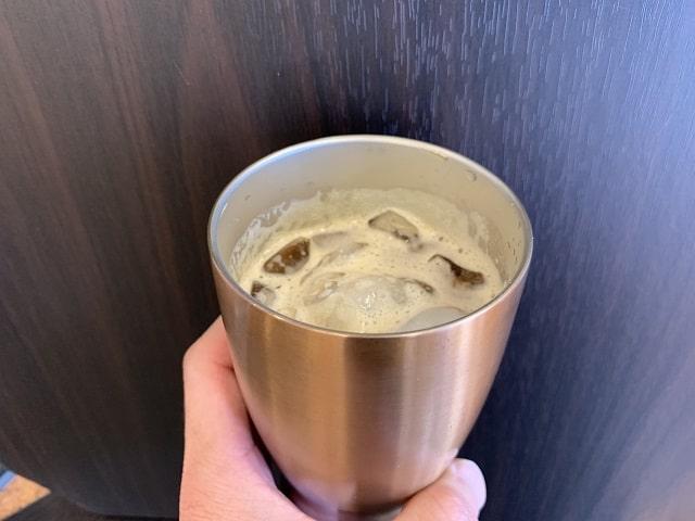 ドルチェグストアイスコーヒー飲む