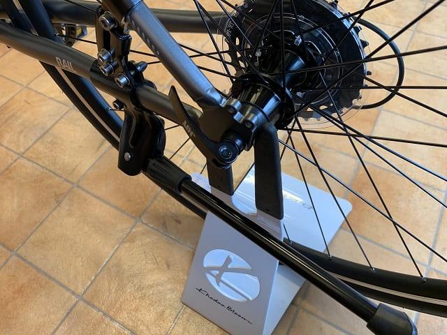 自転車バイクスタンドをクロスバイクに使う