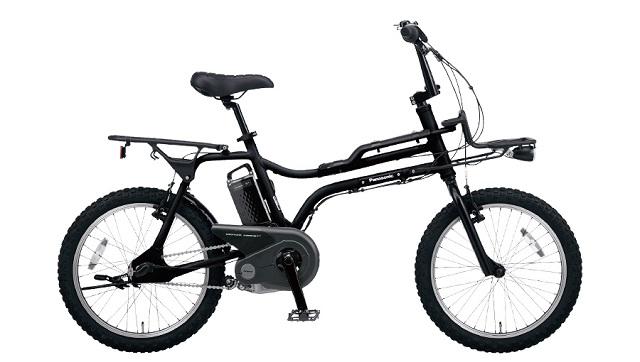BMXスタイル電動アシスト自転車パナソニックEZ ブラックカラー