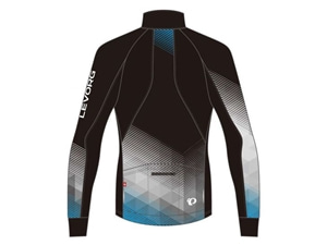 2019スバルサイクルジャージ3555-BLスバルウインドブレークプリントジャケット スバルレボーグ背面