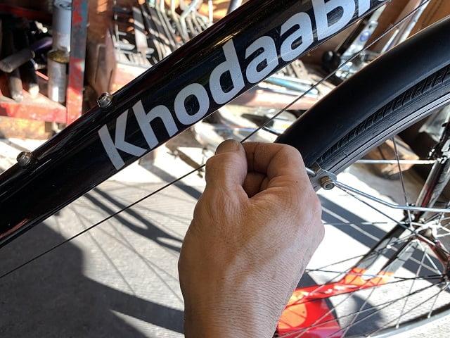 クロスバイク変速ワイヤーの初期伸びを取る