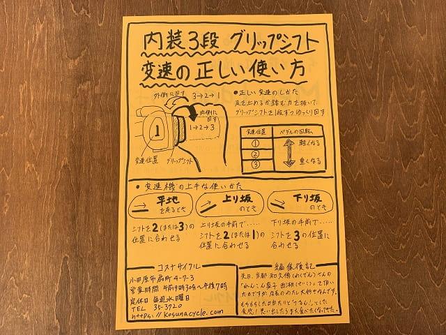 コスナサイクルニュースレター「メウラード」2019年9月号記事面