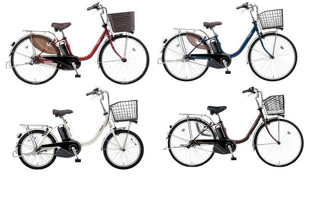 パナソニック電動アシスト自転車ビビシリーズ2020年モデル