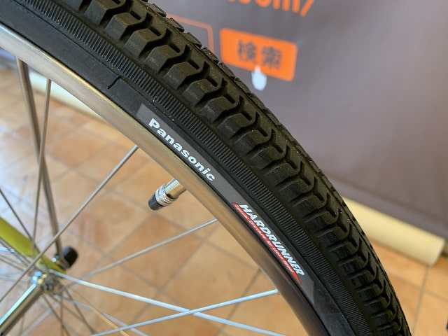 ビビDX2020年モデル BE-ELD636 ハードライナータイヤ&肉厚チューブ