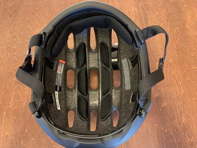 OGK KOOFU BC-Viaヘルメット内側