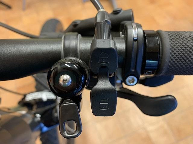 パナソニックEバイクXM1サスペンションリモートレバー