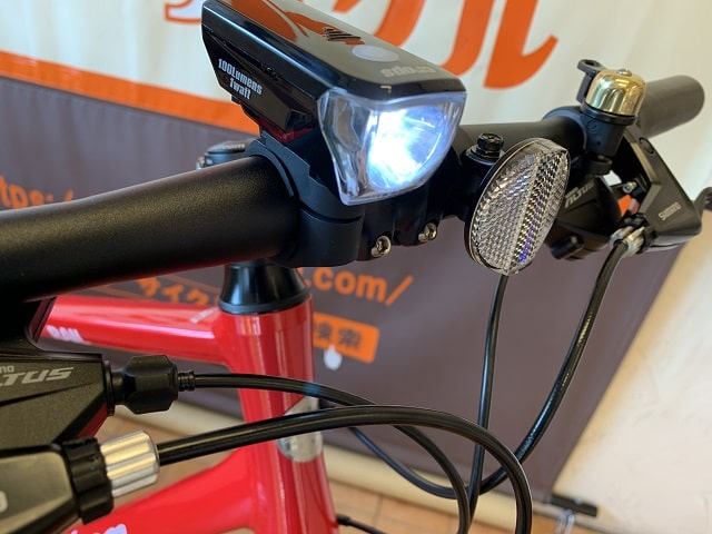 2020年モデル「レイル700」標準装備高輝度LEDライト