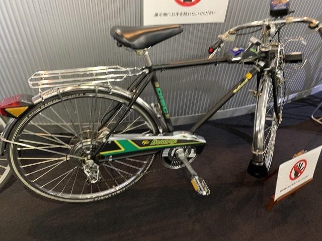 参考出品ナショナル昭和の時代の「スーパーカー自転車」