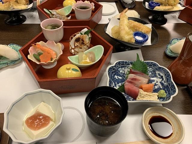 がんこ寿司銀座一丁目店で昼食