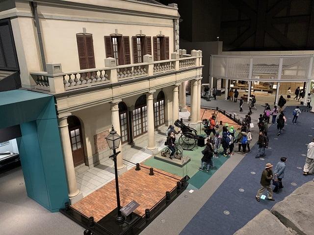 江戸東京博物館 文明開化ゾーン