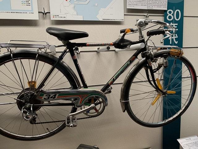 江戸東京博物館 1978年BSモンテカルロ自転車