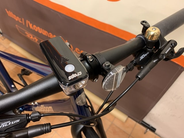 2020RAIL DISC EX LEDライトとベル標準装備