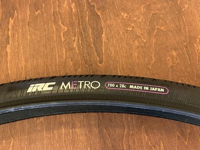 IRCメトロタイヤ700×28C