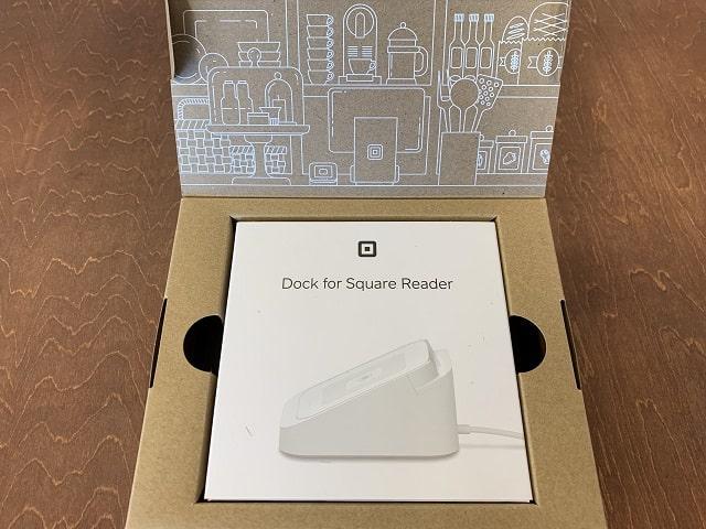 Square Reader専用ドックパッケージを開く