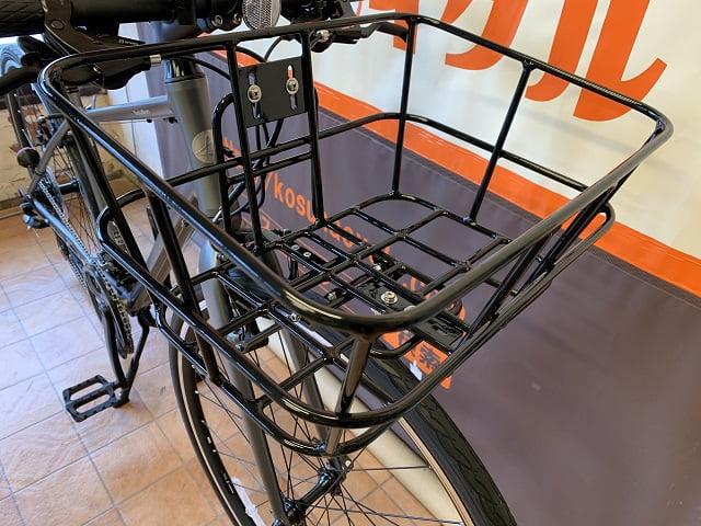 レイル700Aクロスバイクにカゴを付ける