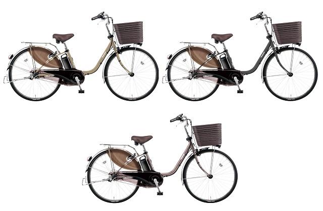 パナソニック電動アシスト自転車「ビビDX」限定カラー3カラー