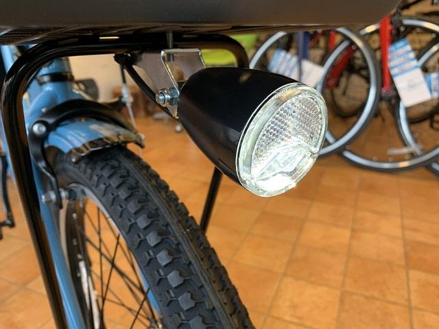 パナソニック子乗せ電動自転車ギュットクルームのLEDランプ