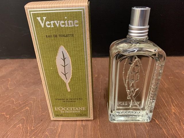 ロクシタン「ヴァーベナ」パッケージとボトル
