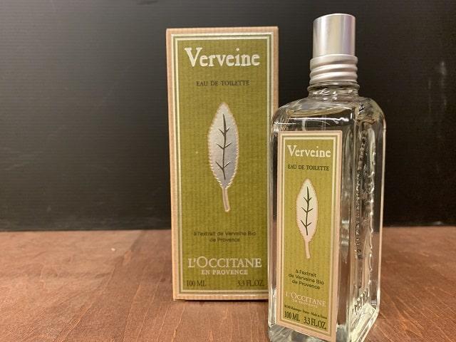 ロクシタン「ヴァーベナ」ボトルサイド