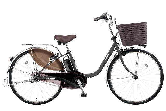 パナソニック電動アシスト自転車「ビビDX」限定マットディープグレーカラー