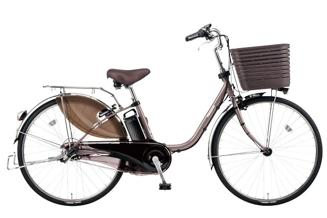 パナソニック電動アシスト自転車「ビビDX」限定カッパーメタリックカラー