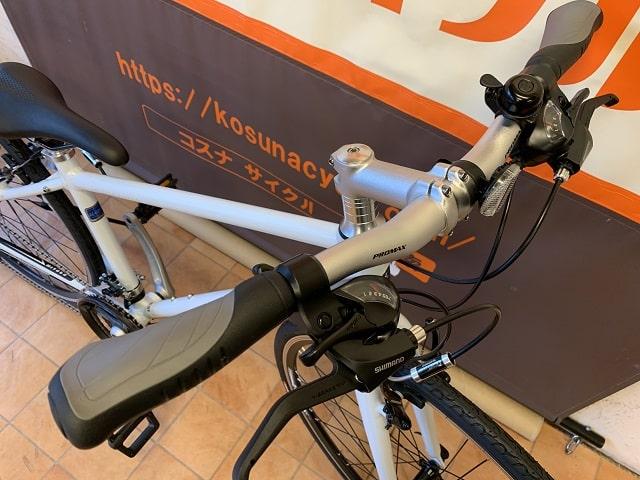 ミヤタのクロスバイク「カリフォルニアスカイC」グリップ