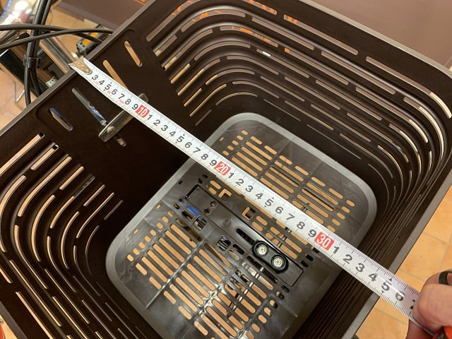 2020ビビSXのスムースインオリジナル大型樹脂バスケット縦幅