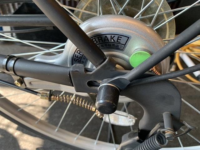後ドラムブレーキからサーボブレーキ交換作業完了
