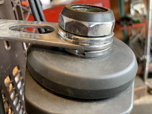 電動アシスト自転車のヘッドセット