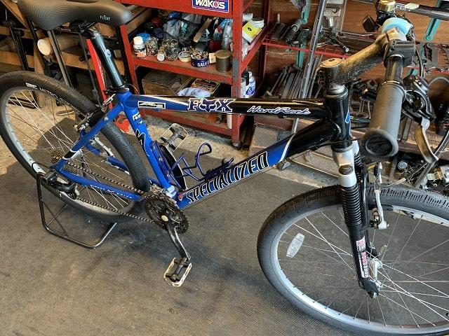 コスナのサイクルクリーニングで約20年前のマウンテンバイクもピカピカに