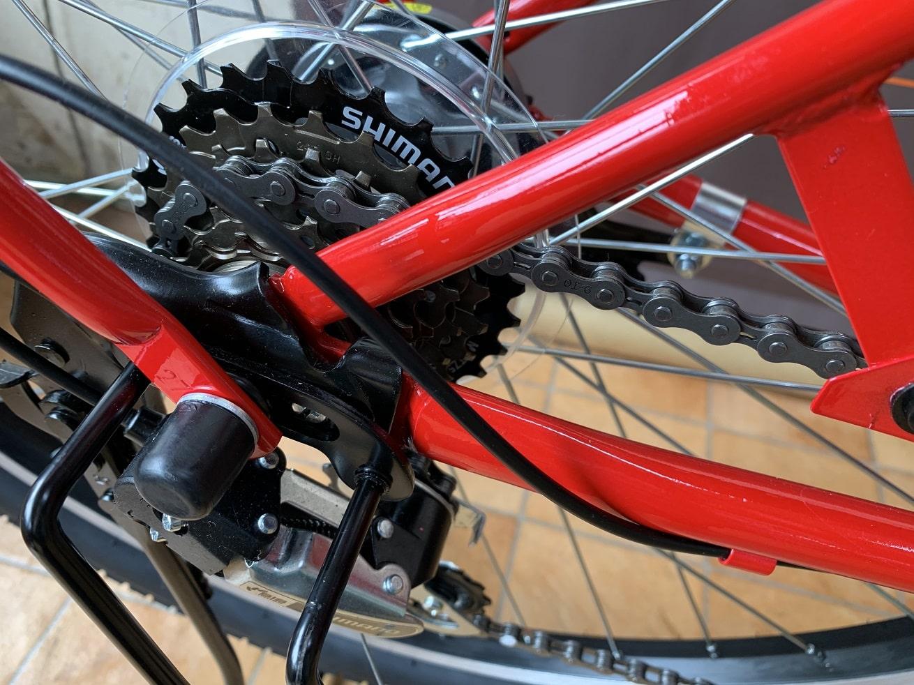 マルキン自転車「カンペール」外装6段変速