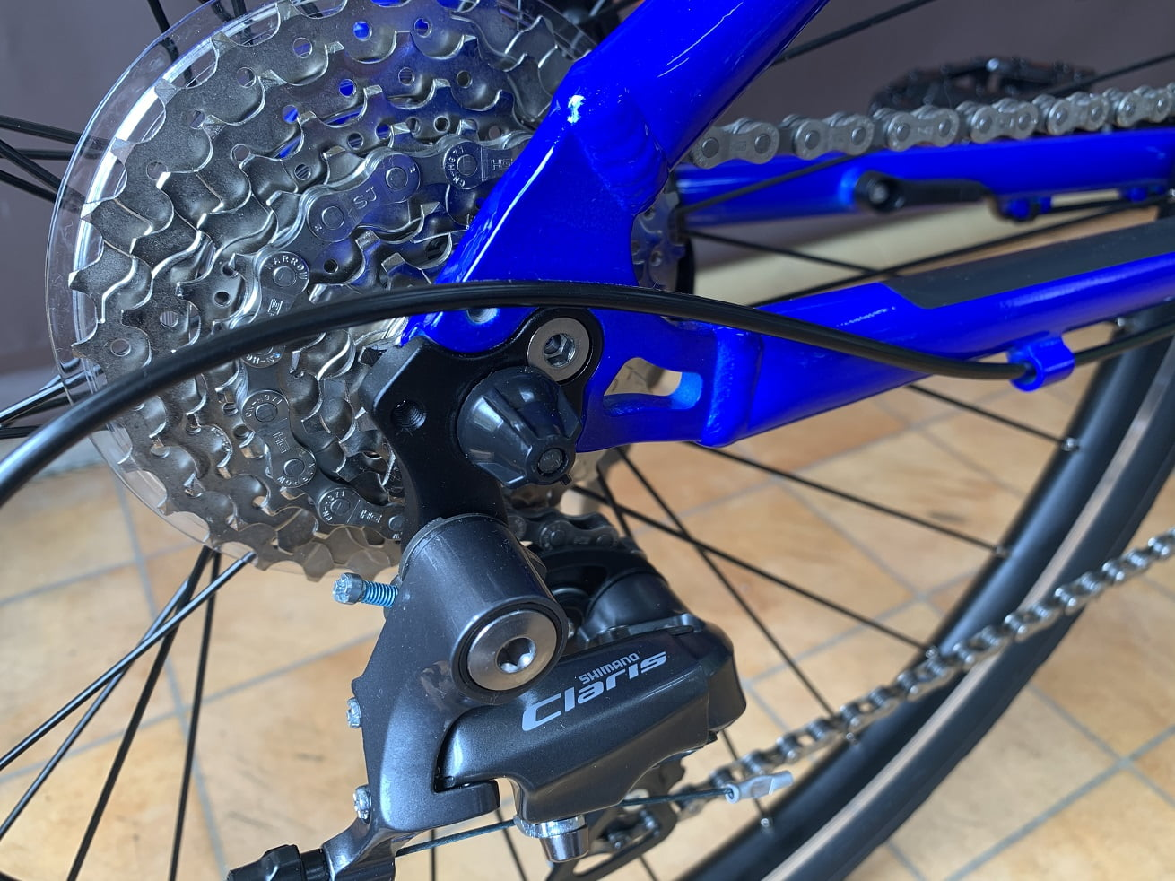 Panasonic電動アシスト自転車「ジェッター」8段変速ギア