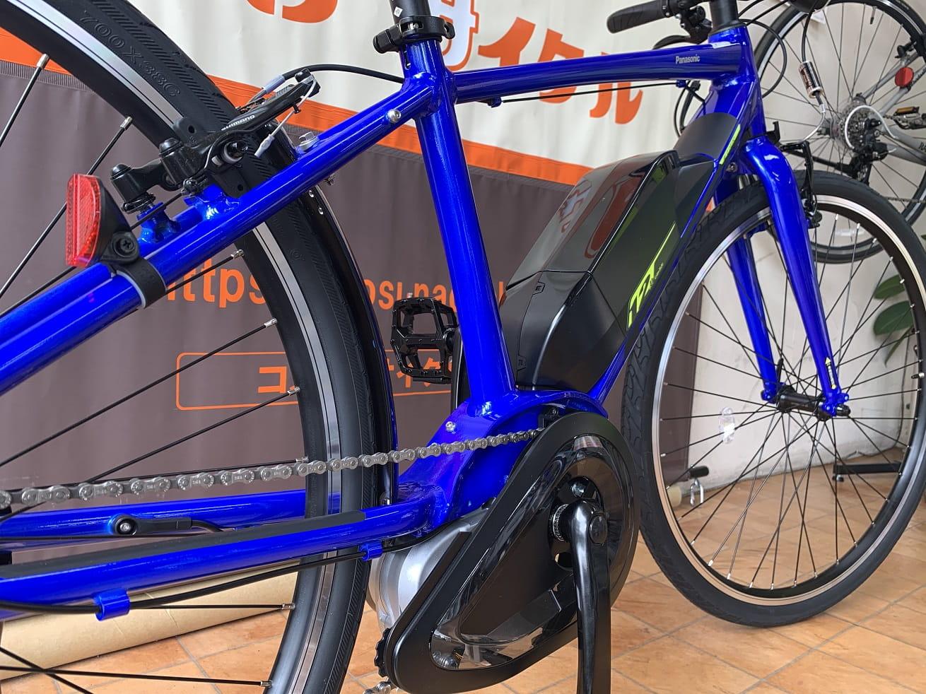 Panasonic電動アシスト自転車「ジェッター」後方スタイル