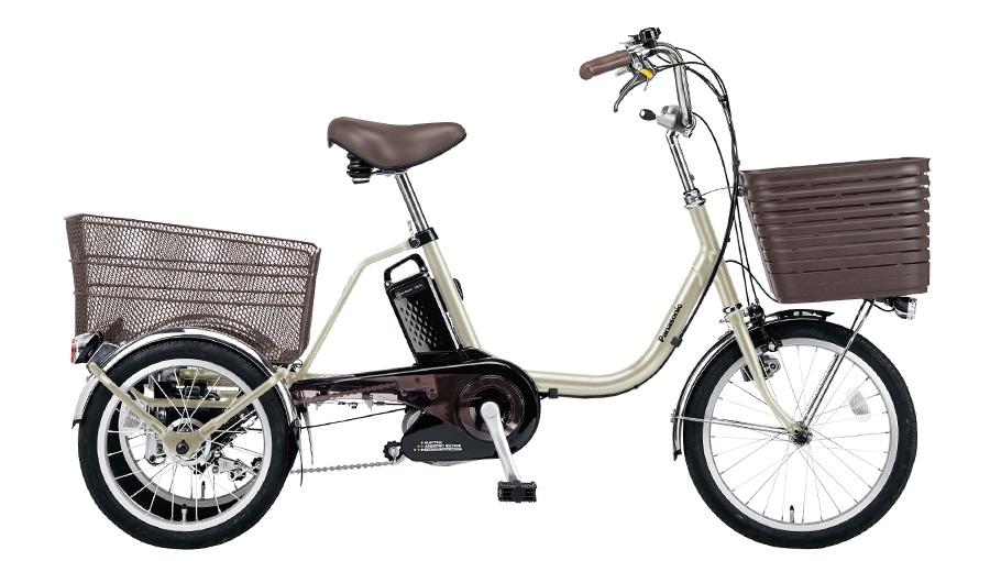 映画「いのちの停車場」で使用されたパナソニック電動アシスト三輪自転車「ビビライフ」