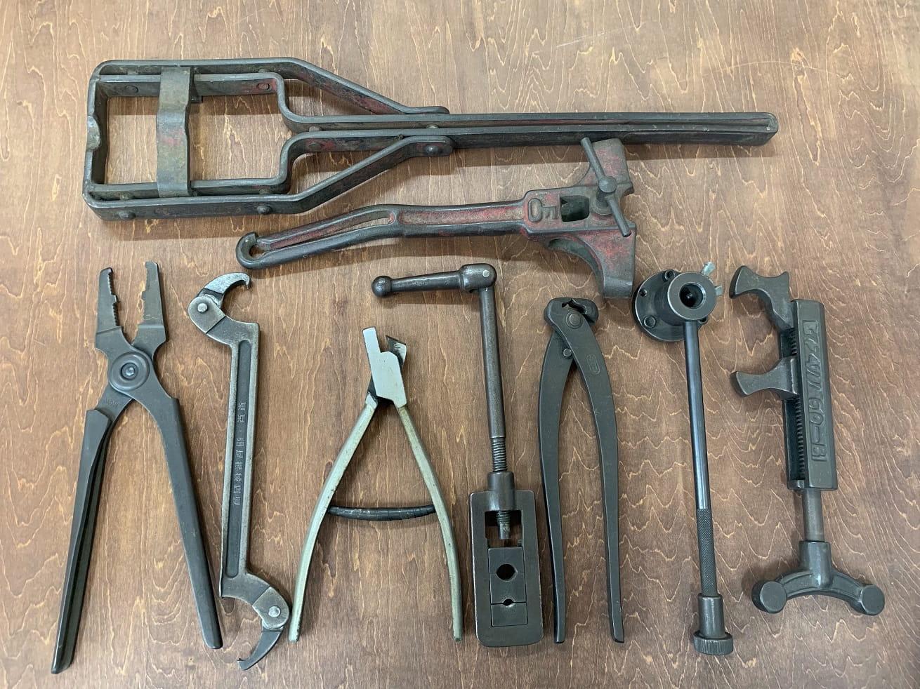 自転車ヴィンテージ工具類