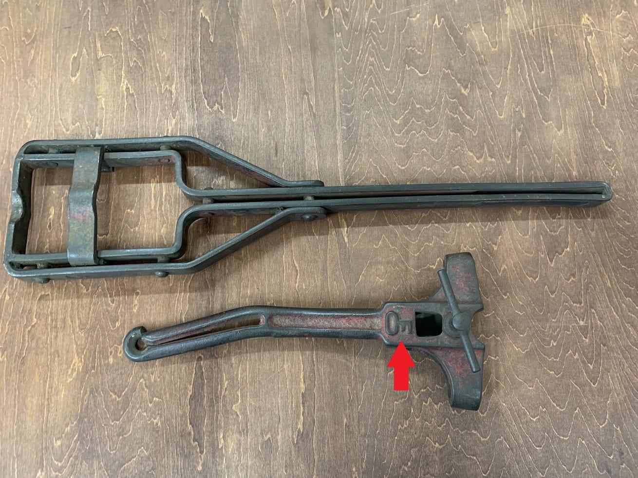 自転車ヴィンテージ工具 クランク修正工具とペダル修正工具 大塚工具