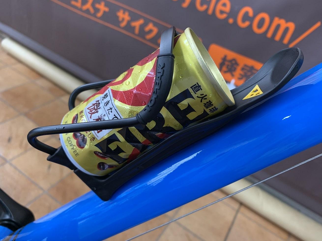 FIRE缶コーヒーとTOPEKモジュラーケージⅡ