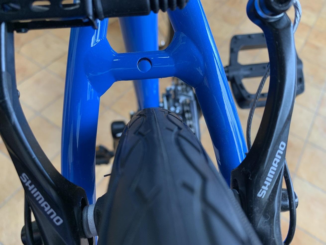 クロスバイクフェンダー取付時のチェック項目「タイヤクリアランス」