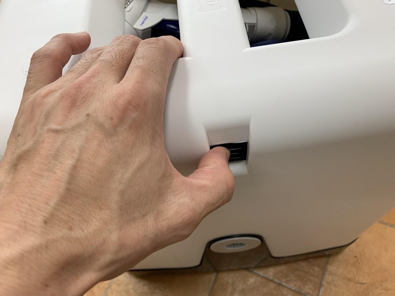 タカギ散水ホースリール「オーロラBOXYツイスター」梱包内容物