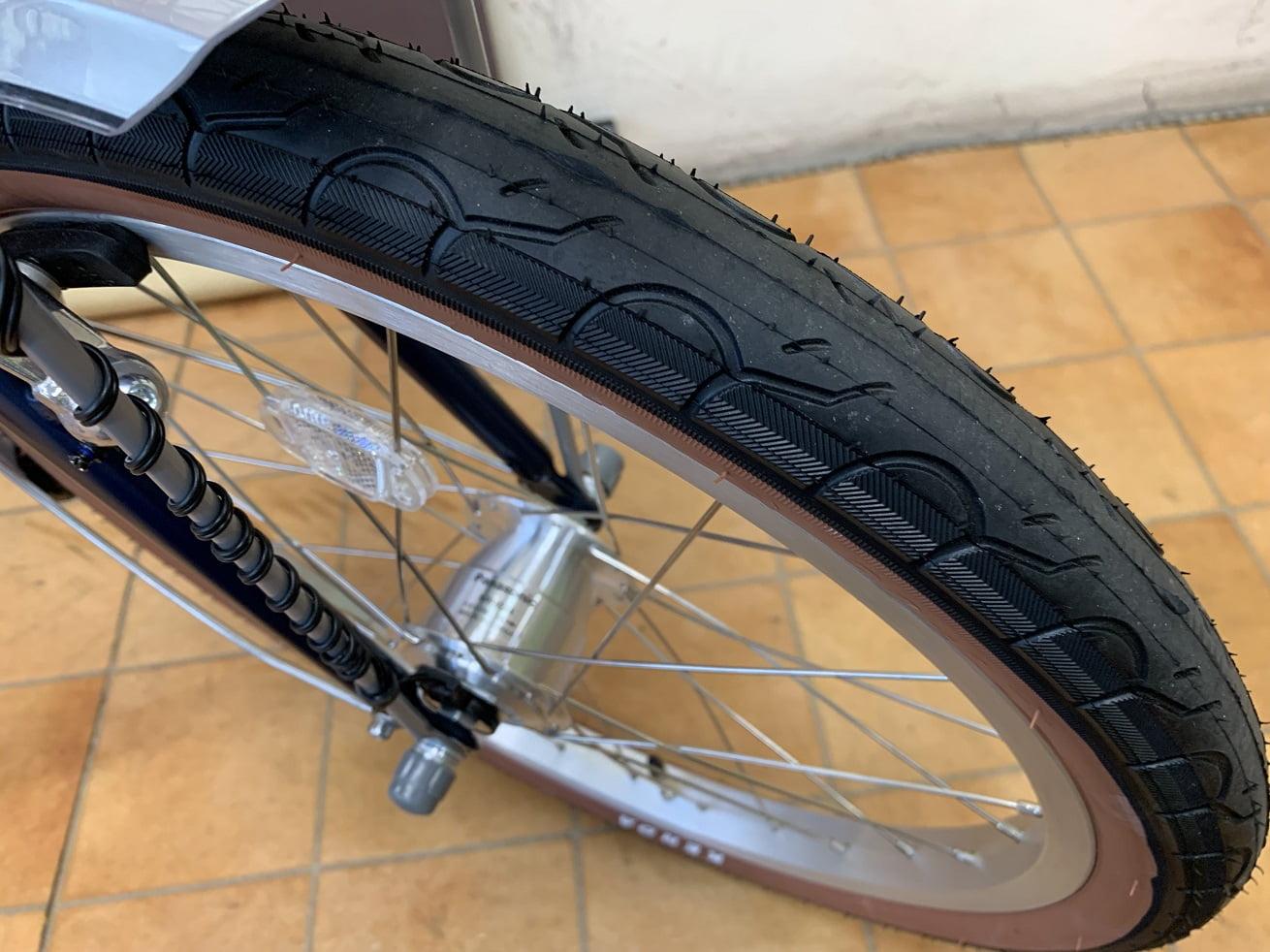 ミニベロNESTO refmo20×1.75タイヤ