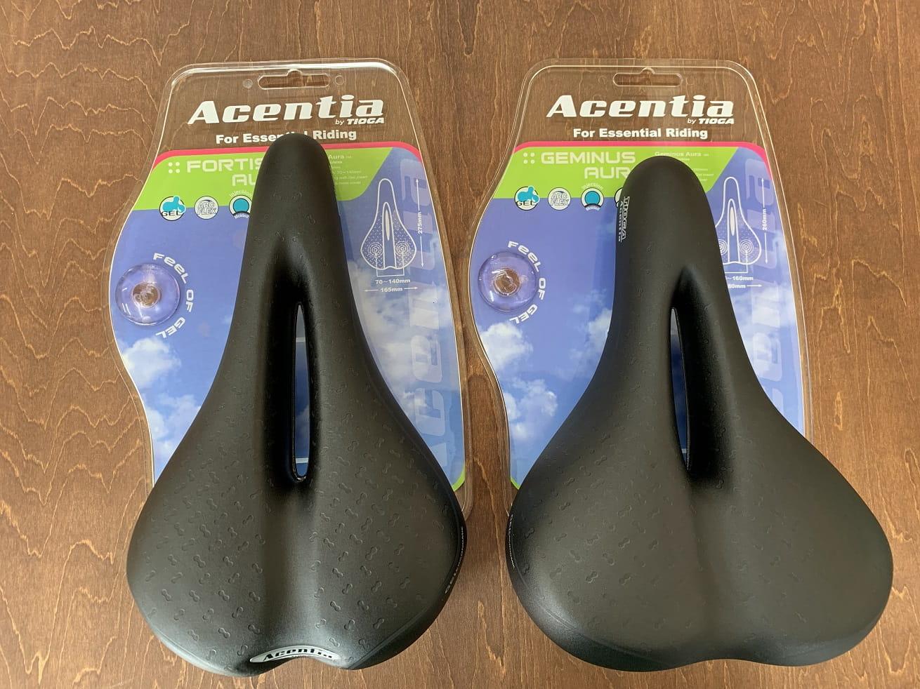 クロスバイクおすすめサドルはタイオガ「アセンシア」シリーズ