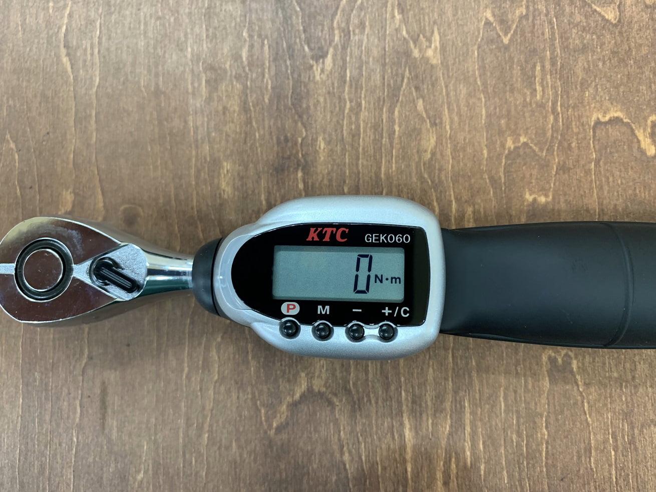 KTCデジラチェ GEK030-R3計測モード